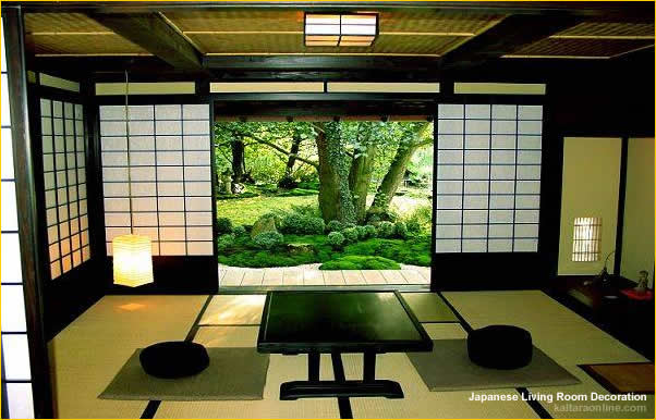 Japanese living room ideas for Asian home design