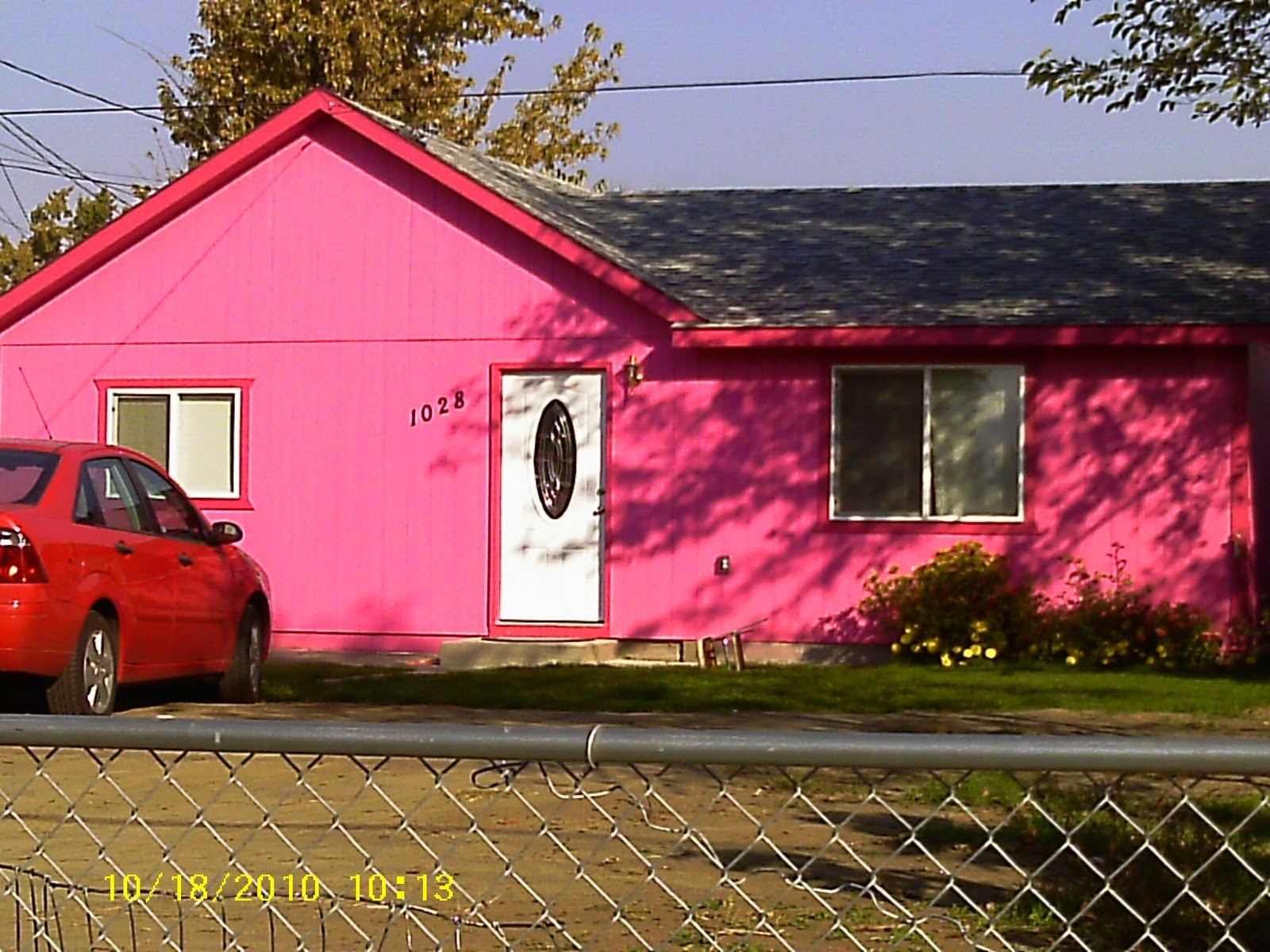 Benchmark 60: WTF Wednesday: The Pepto Bismol House