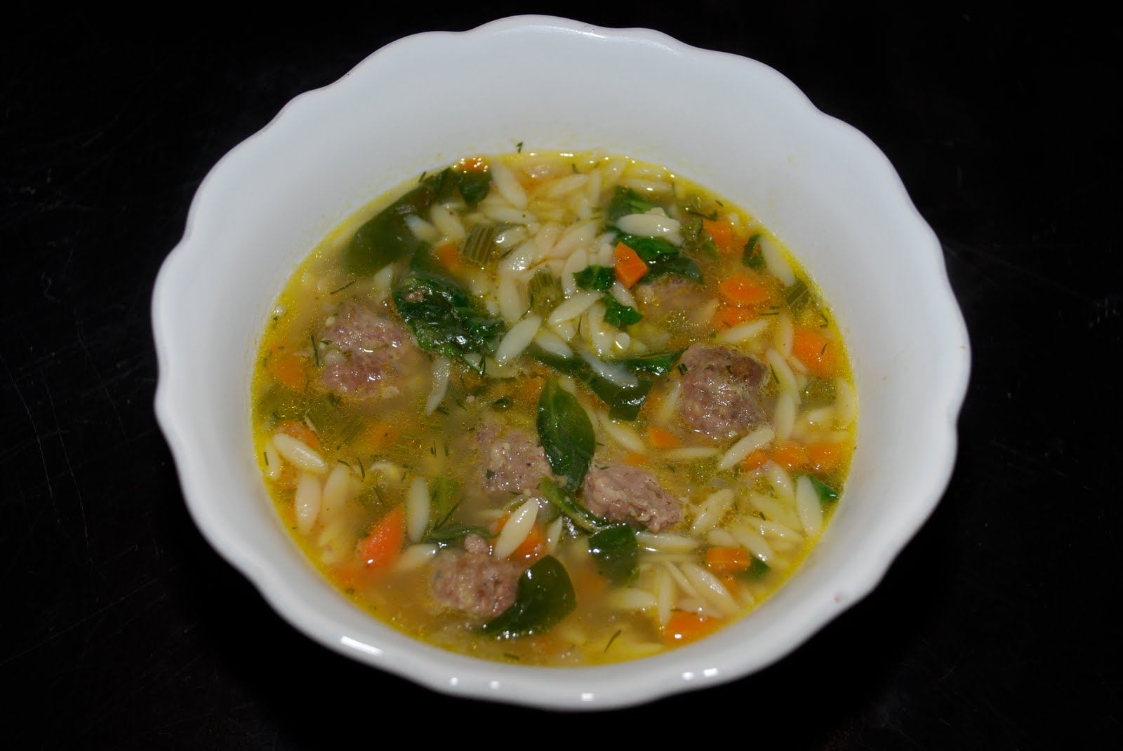Tomatoes on the Vine: Italian Wedding Soup