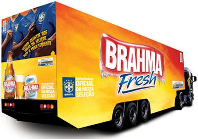Caminhão Brahma Fresh