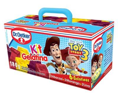 Kit Gelatinas Toy Story 3