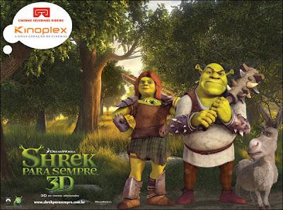 Cinemas em promoção no lançamento de Shrek