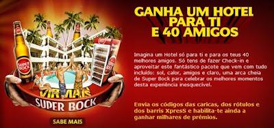 Super Bock reforça campanha
