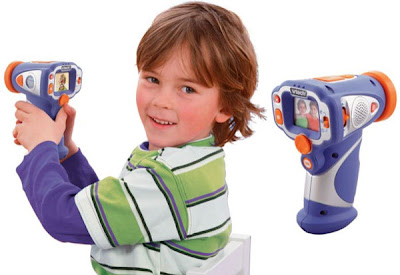 Câmera infantil para a próxima geração YouTube