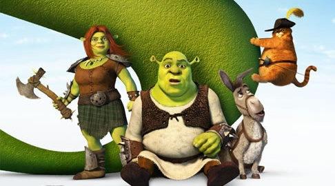 Shrek 4 no topo