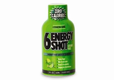 """""""6 Energy Shot"""" chega ao Brasil"""