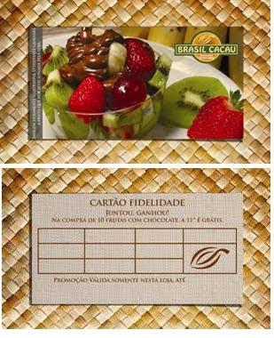 Brasil Cacau lança cartão fidelidade