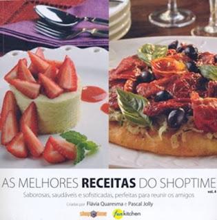 Clientes do Shoptime ganham livro com receitas de Flávia Quaresma