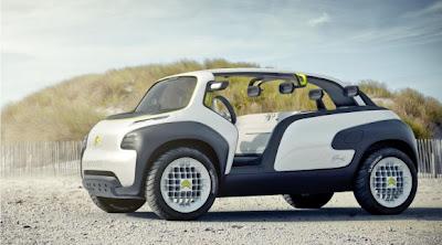 Lacoste e Citröen com carro conceito