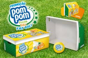 Pom Pom recebe Prêmio Creativity International por embalagem promocional temática da Copa