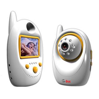 Babá eletrônica portátil da Q-See auxilia no monitoramento de bebês