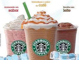 Starbucks com campanha para verão