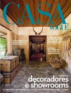 Casa Vogue lança primeiro Anuário de Decoradores pela Editora Globo Condé Nast