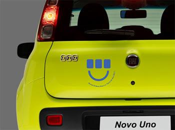 Fiat dá adesivos para clientes customizarem seu carro