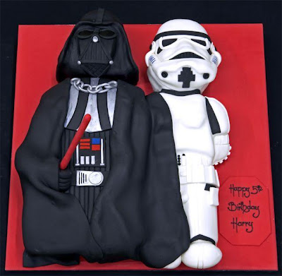 Star wars cake