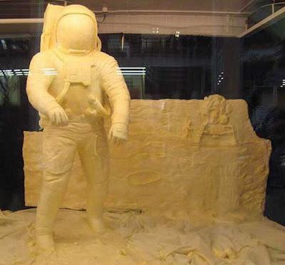 Seni Membuat Patung dari Mentega
