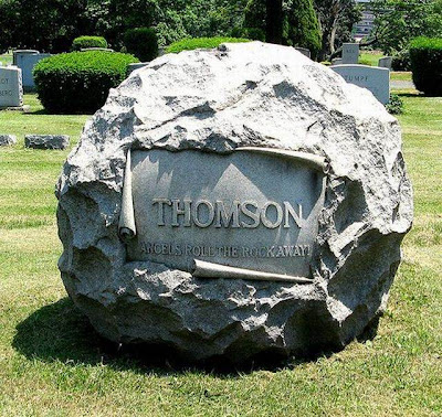 design a tombstone