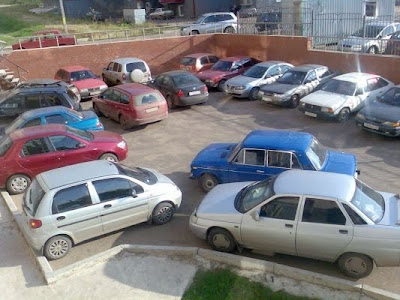 car parking fail