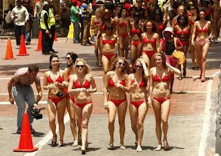 bikini parade