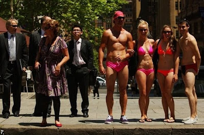 bikini parade world record