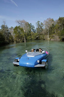 Rinspeed Splash: Sports Car & Speed Boat