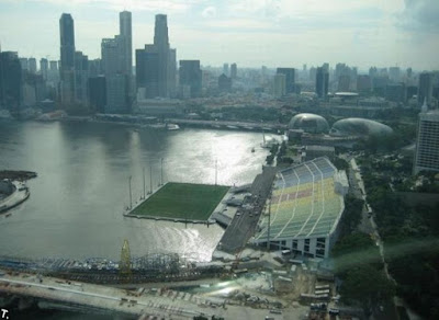 Floating Stadium marina bay singapore