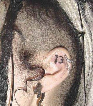 tattoos behind ear