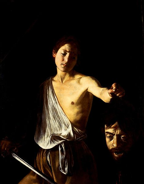 Caravaggio: Davi com a cabeça de Golias