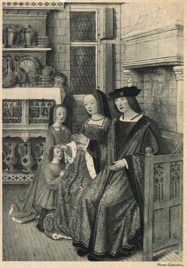Historia del habitat indumentaria femenina - Ropa interior medieval ...