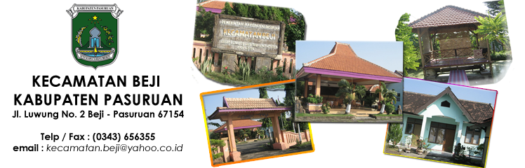 Kecamatan Beji - Kabupaten Pasuruan