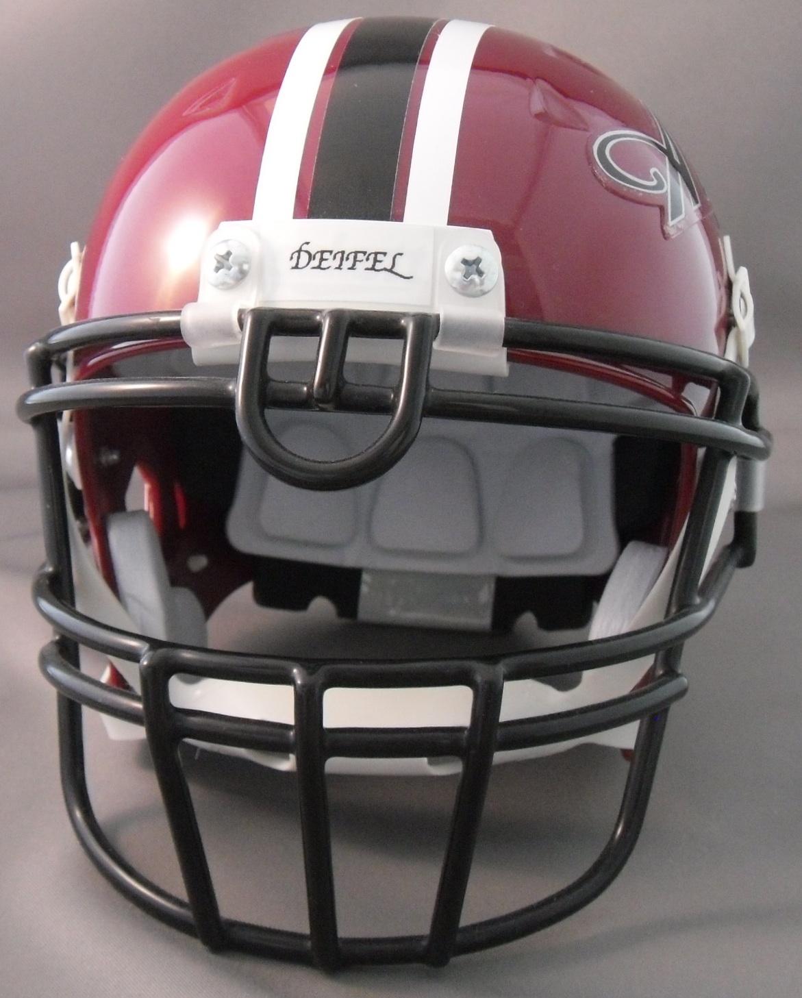 Back Bumper Football Helmets Types : Helmetnation wedding helmets
