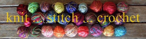 knit ... stitch ... crochet