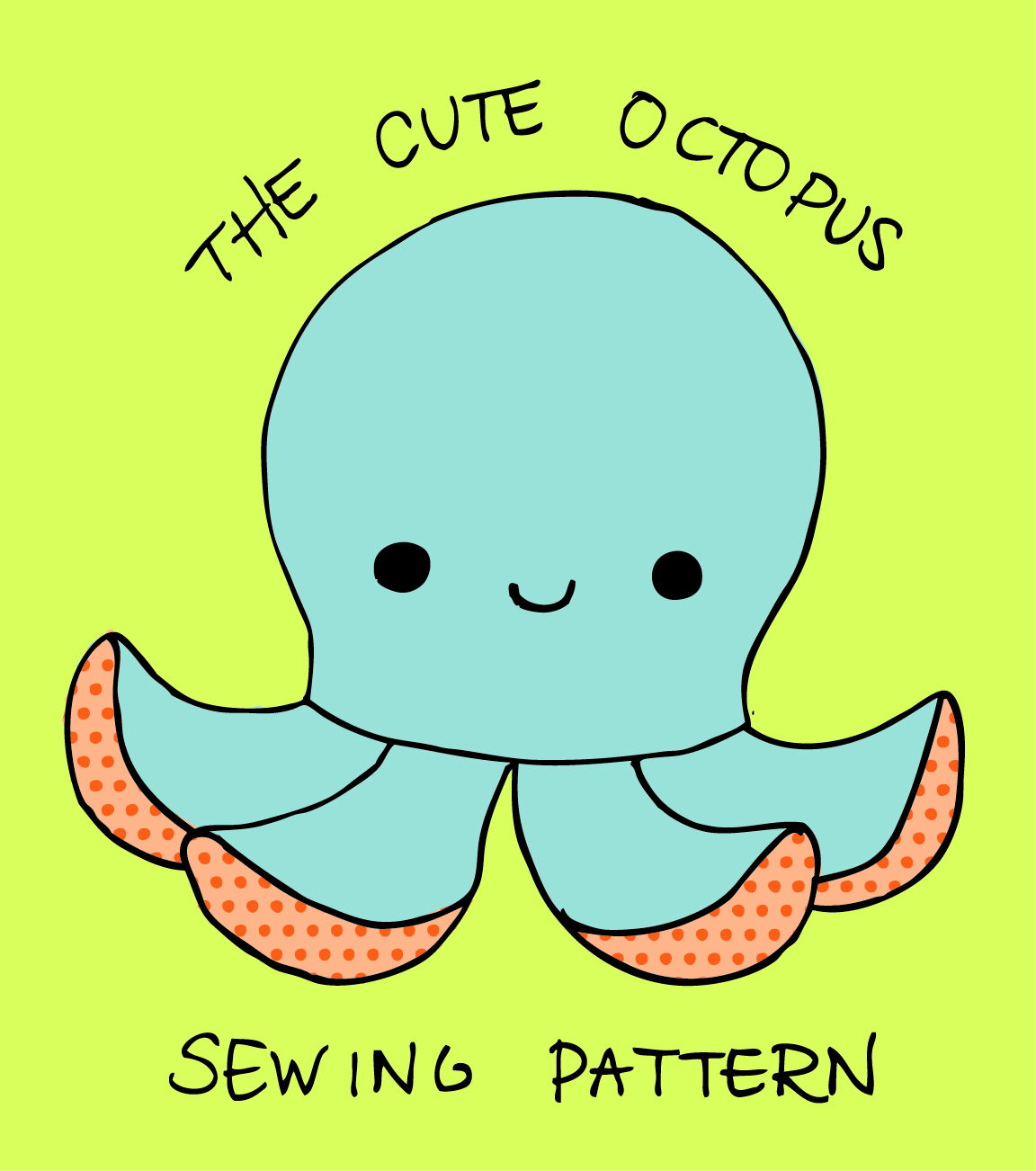 Cute Octopus Template Project Cute Octopus Pattern