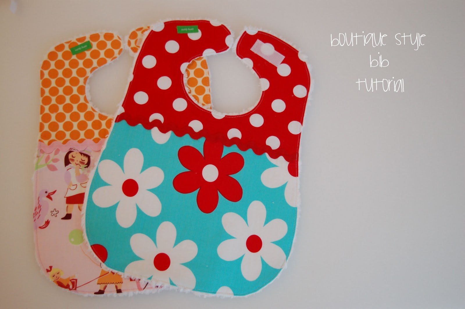 Boutique Style Bib Tutorial Lots Of Pink Here