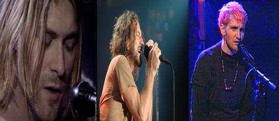 Kurt Cobain Eddie Vedder
