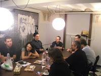 D'esquerra a dreta, Guillem Carbonell, Sílvia Cobo, David Rodríguez, Dani Cortijo, Gerard Balagué, Xavi Caballé, Galderich i Beli Artigas