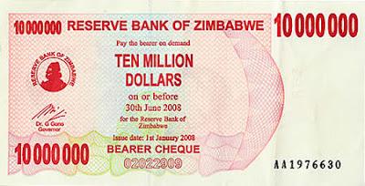 Las monedas más devaluadas del mundo