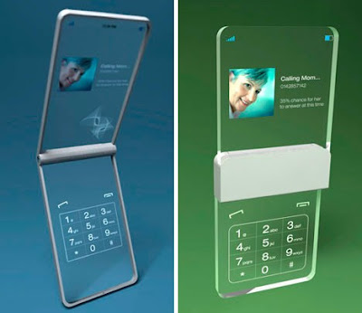 lates cell phone, Cool Cell Phone, Concepts From The Future,  The Future Cell Phone, Cell Phone Concepts From The Future