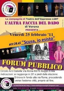 Venerdì 25 Febbraio: TDO a Reggio Emilia