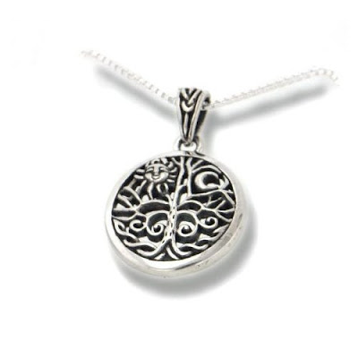 Celtic Tree of Life Art Symbol with Sun and Moon Sterling Silver ...