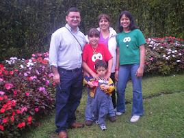 Familia Arias en Costa Rica Nov.2008