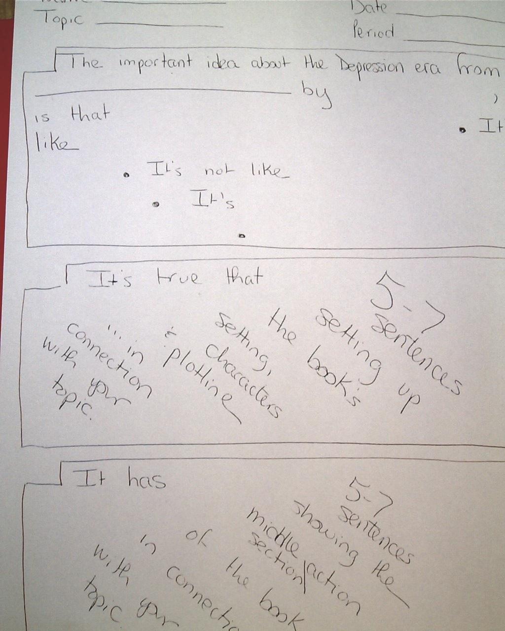 12 point type essays