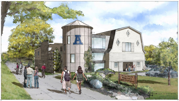 The Aggie Barn:  Future USU Welcome Center & Museum of Anthropology