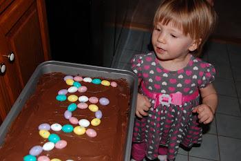 Nonie's Homemade Bday cake