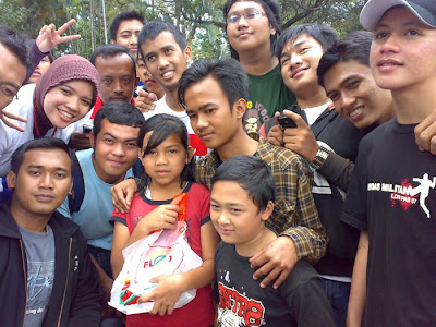 Amazing Race, 3 artists from Bandung, with batagor community, in Bandung Paris Van Java, West Java