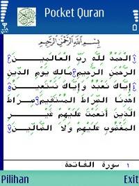 download gratis aplikasi islami handphone nokia, sony ericcson. pocket quran untuk di hape nokia dan sony ericsson