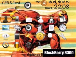 Download free Blackberry 8300 curve phone themes