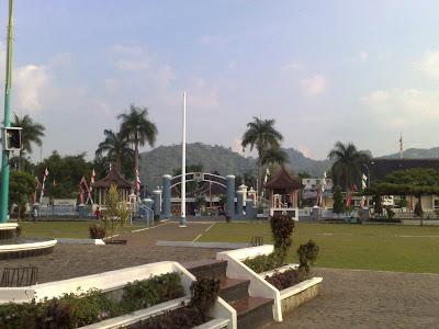 Lapangan Alun alun kabupaten majalengka