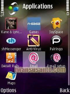 instal nokia messaging pada N95