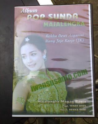 Album Pop Sunda Majalengka, Majalengka Mapag Bagja. Mang Jojo Karjo